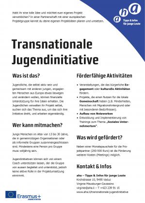 Transnationale Jugendinitiative