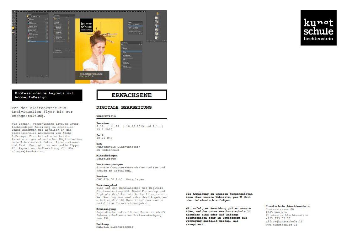 Aha Tipps Infos Für Junge Leute Layouts Mit Adobe